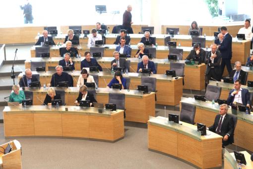 Seimas po svarstymo pritarė įstatymo projektams dėl griežtesnės aplinkosaugos