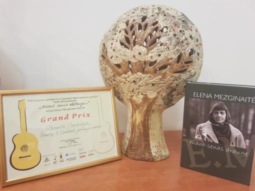 Simono Daukanto abiturientė dainuojamosios poezijos festivalio-konkurso nugalėtoja
