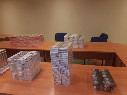 Lavoriškių punkto tualete kažkas atsikratė cigaretėmis už 9 tūkstančius eurų