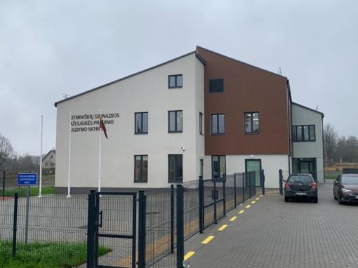 Vilniaus rajone – Ažulaukės pradinio ugdymo skyriaus naujo pastato atidarymas