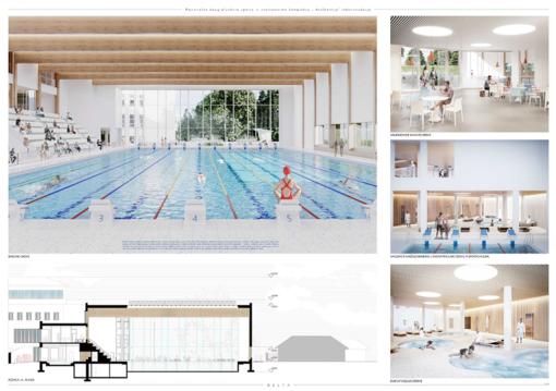 Panevėžys atsinaujina! Miestas turi 10 naujo baseino vizijų