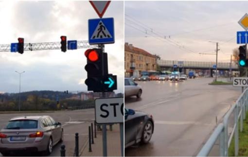 Absurdiška situacija – ar vairuotojai išmano KET pokyčius? (vaizdo įrašas)