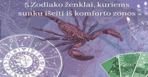 5 Zodiako ženklai, kuriems sunku išeiti iš komforto zonos