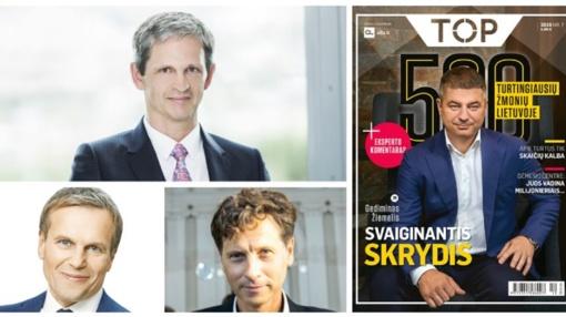 """Žurnalas """"Top"""": turtingiausi lietuviai – N. Numavičius, M. Raila ir G. Žiemelis"""
