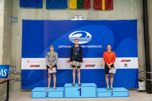 Plaukikė E. Guzaitė laimėjo du medalius