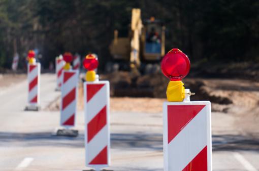 Laikinai bus ribojamas eismas Vytauto gatvėje