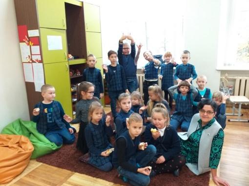 Skaitymo džiaugsmas mokykloje