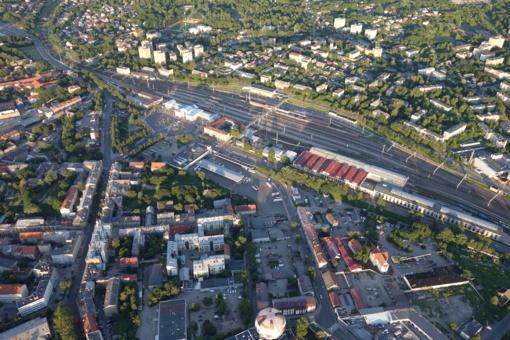 Kas toliau: geležinkelio stoties teritorijos ir prieigų schemų aptarimas