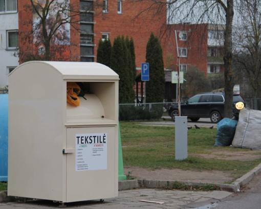 Ar jau rūšiuojate tekstilės atliekas?