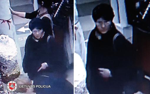 Panevėžyje ieškomas piniginę pavogęs vyras