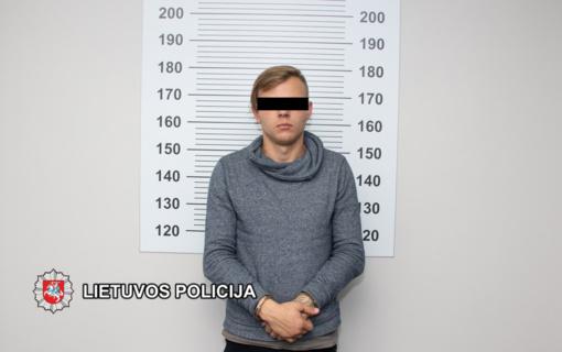 Sulaikytas vaikinas įtariamas iš senyvo amžiaus klaipėdiečių atiminėjęs rankines (vaizdo įrašas)