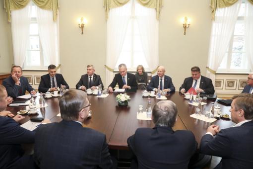 Prezidentas G. Nausėda atviras dialogui su Baltarusija, tačiau raudonųjų linijų neperžengs