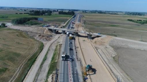 Vyriausybė tvirtins kelio Kaunas–Marijampolė–Suvalkai ruožo rekonstrukcijos specialųjį planą