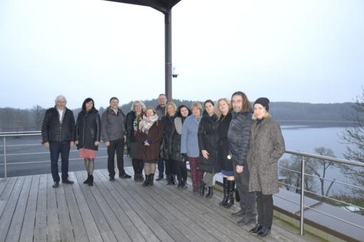Zarasuose vyko Utenos regiono kultūros tarybos posėdis