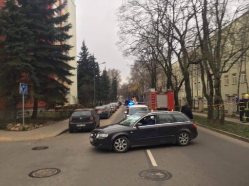 Vilniuje atliekant remonto darbus pažeistas dujų vamzdis
