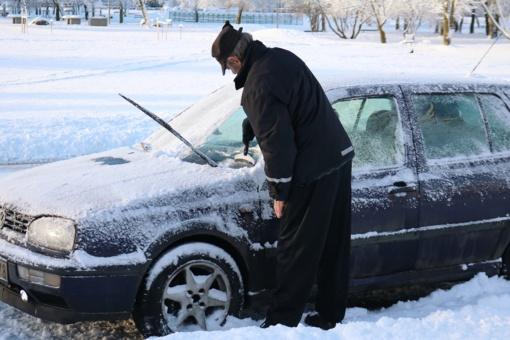 Patarimai: kaip paruošti automobilį žiemai