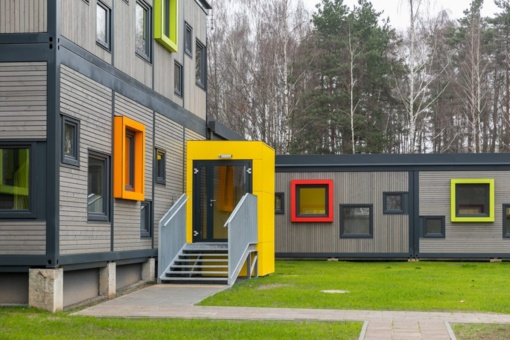 Vilniuje atidaromi nauji moduliniai darželiai