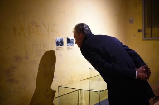 Prezidentas apsilankė Gedimino kalne rastų sukilėlių istorijai skirtoje parodoje