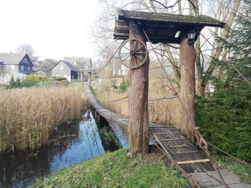 Ar tikrai kabantis tiltas yra avarinės būklės?