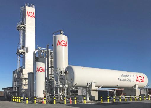 Gautas leidimas oro skaidymo dujų gamyklos Kėdainių LEZ statyboms
