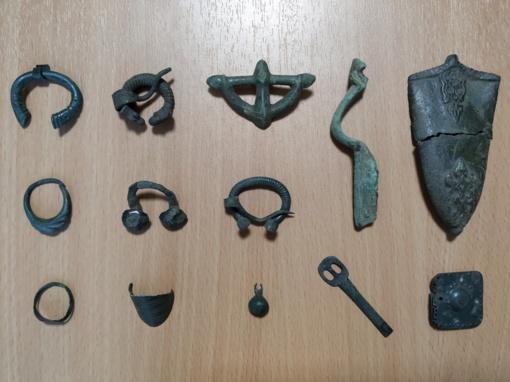 """Tauragės krašto muziejus """"Santaka"""" papildytas vertingais archeologiniais radiniais"""