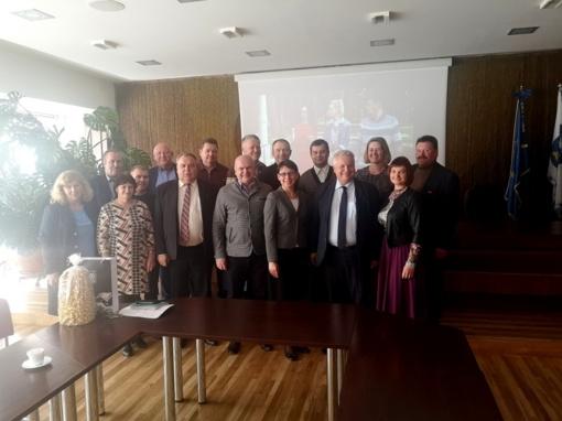 Birštono savivaldybę aplankė svečiai iš Žemaitijos – Kelmės rajono savivaldybės delegacija