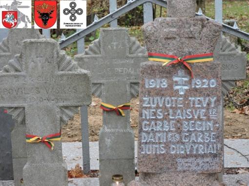Sutvarkytas savanorių kapas – pagarba laisvės karžygiams