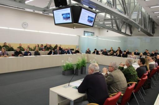 Pratybų metu tikrintas pasiruošimas mobilizacijai