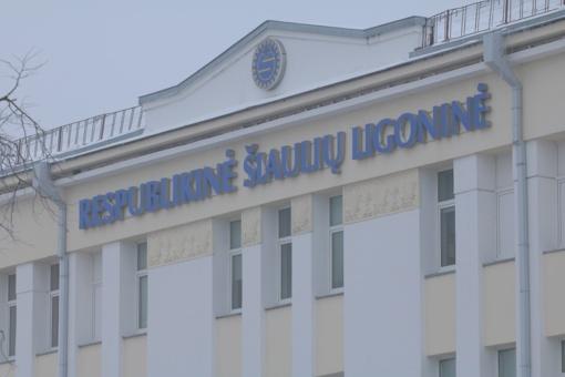 Šiaulių ligoninėje sugadinta įranga