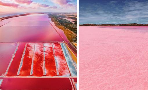 Kerinti lagūna Vakarų Australijoje