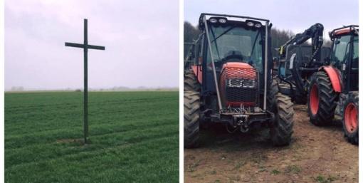 Streikuojantys ūkininkai traktoriais į pagrindinę Alytaus gatvę neįvažiuos