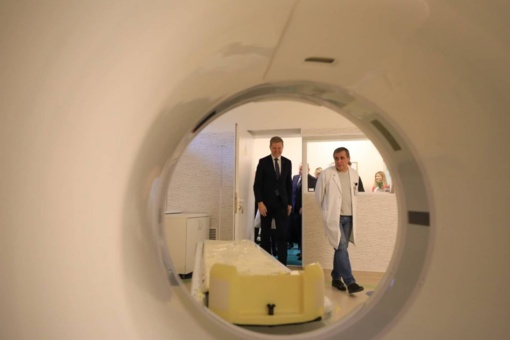 Sostinės M. Marcinkevičiaus ligoninėje – naujas modernus tomografas ir atnaujintos patalpos