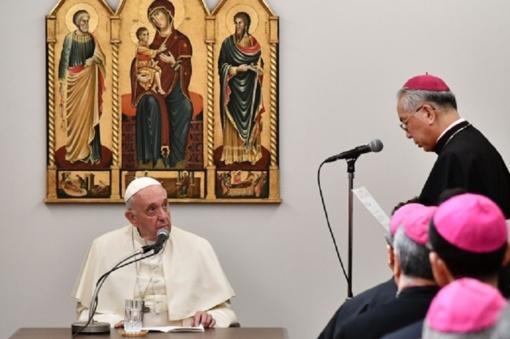 Kelionę po Aziją tęsiantis popiežius Pranciškus atvyko į Japoniją