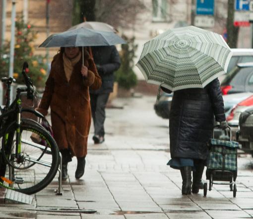 Po šaltesnės savaitės pradžios orai švelnės