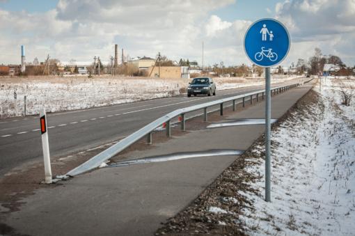 Klaipėdos rajone susidūrė automobiliai
