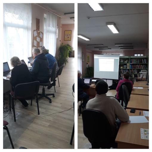 Skuodo rajone gyventojai mokėsi skaitmeninio raštingumo