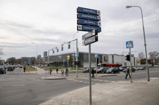 Rekonstruota Rinktinės ir Žalgirio gatvių sankryža tapo saugesnė