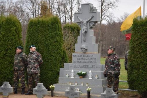 Alvite paminėta Lietuvos kariuomenės diena