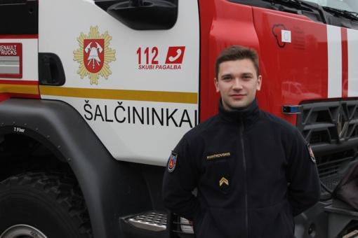 Šalčininkų ugniagesys – Lietuvos jėgos trikovės varžybų vicečempionas