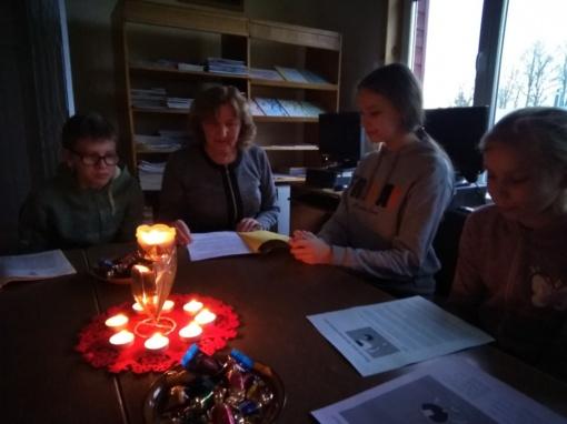 Šiaurės šalių literatūros skaitymai Strūnaičio bibliotekoje