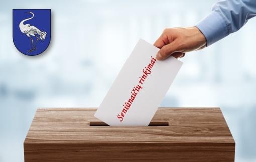 Vyksta Visagino savivaldybės seniūnaičių pakartotiniai rinkimai