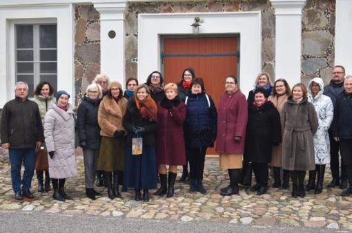 Paliesiaus dvare vyko Aukštaitijos regioninės etninės kultūros globos tarybos išvykstamasis posėdis