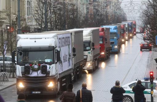 """""""Linava"""": jei vežėjas bankrutuos, vairuotojo sąlygos bus dar labiau pablogintos"""