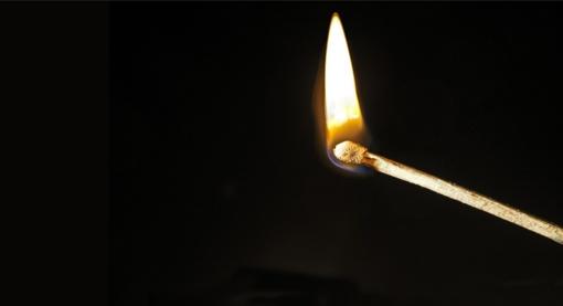 Klaipėdietė rado apdegusias buto duris