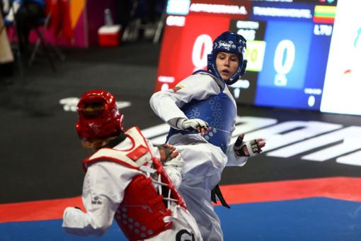 Europos taekwondo čempionate – 5 vieta