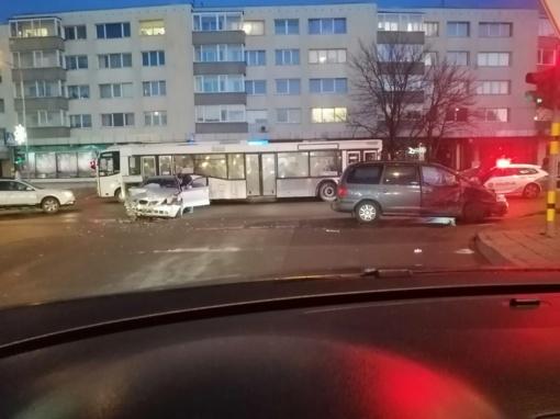 Per avariją Panevėžyje sužalotos dvi moterys