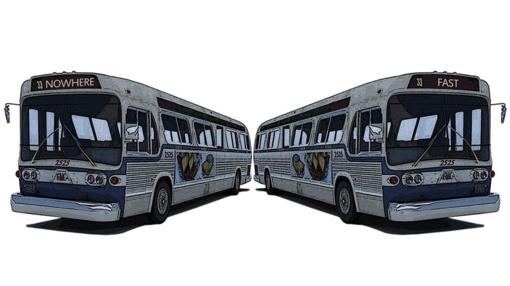 Koreguojamas miesto autobuso važiavimo laikas ir dažnumas