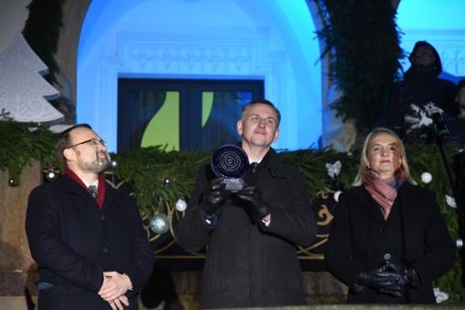 Kultūros sostinės medis jau atkeliavo į Trakus - Lietuvos kultūros sostinę