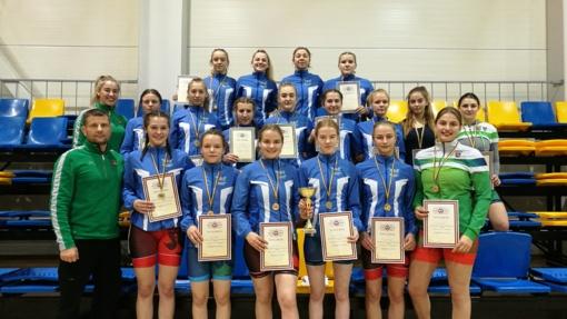 Šiaulių imtynininkės – Lietuvos Respublikos jaunimo žaidynių čempionės
