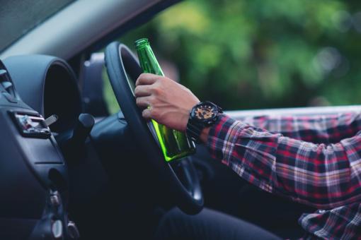 Pagėgiuose sustabdytas neblaivus vairuotojas